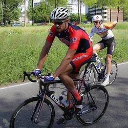 WIELRENNEN, Rijswijk. Olympia's tour Lucas Eamon
