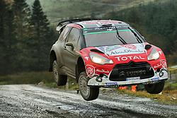 October 28, 2016 - PAYS GALLES - Kris Meeke (IRL) / Paul Nagle (GB) - Citroen DS3 WRC (Credit Image: © Panoramic via ZUMA Press)