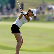 HAVRE DE GRACE, MD, June 7, 2007:  Michelle Wie plays during the first round of the LPGA Championship in Havre De Grace, MD on June 7, 2007.  (Photo by Todd Bigelow/Aurora)