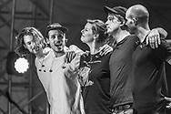 German indie-pop band Juli at Stadtfest Ludwigshafen