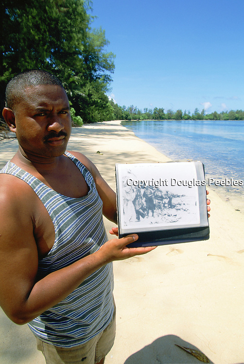 Orange Beach, Peleliu, Palau, Micronesia, (editorial use only- no model release)<br />