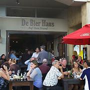 Bars and restaurants on The Strand, on The Strand, Tauranga, New Zealand,, 3rd December 2010 Photo Tim Clayton..