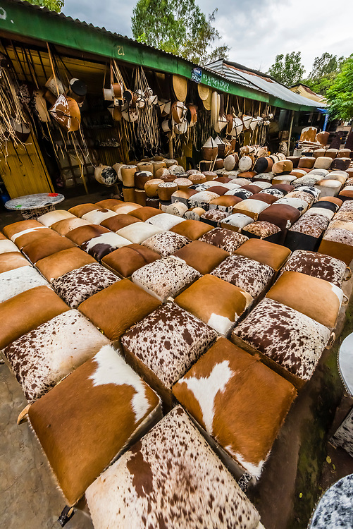 Furniture for sale in the market, Bahir Dar, Ethiopia