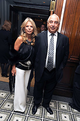 SIR PHILIP & LADY GREEN at Vogue's Celebation of Fashion dinner held at The Albermarle, Brown's Hotel, Albermarle Street, London on 18th September 2008.