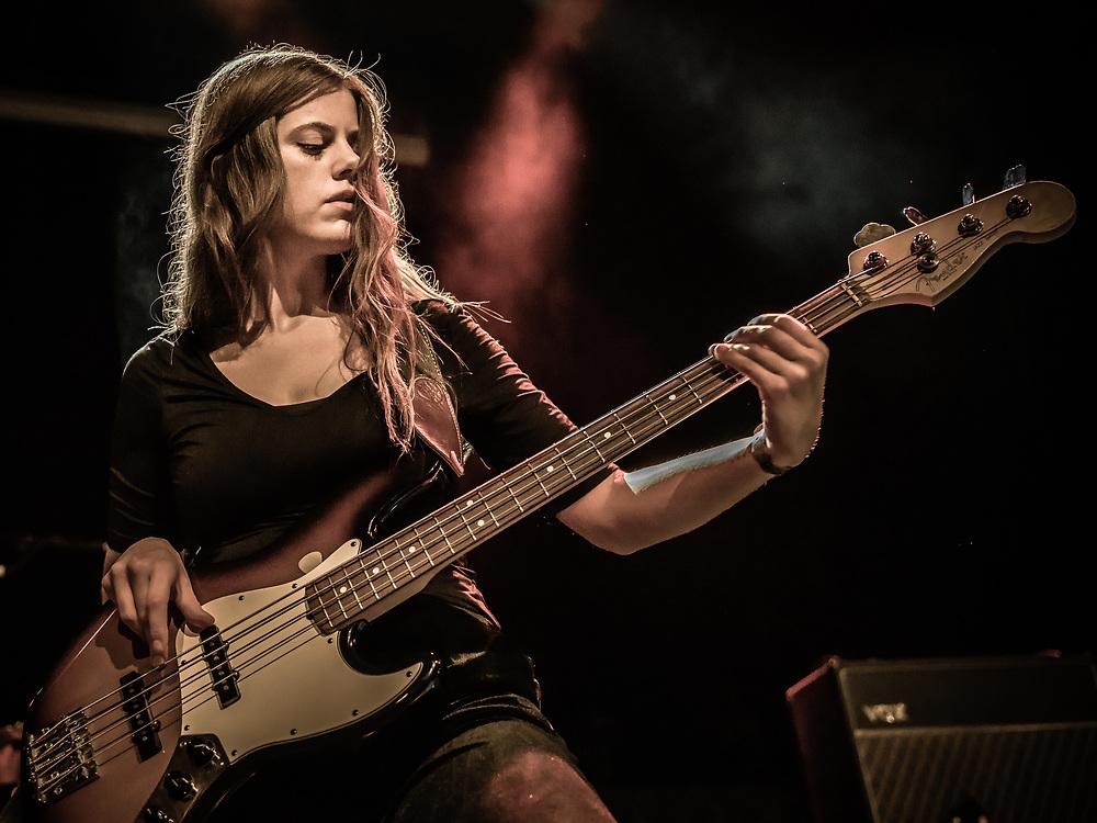 Ása Dýradóttir of Icelandic indie-rock band Mammút at Iceland Airwaves