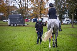 Donckers Karin, Both Kristien, BEL, Lady Seaspray<br /> CNC Minderhout 2020<br /> © Hippo Foto - Dirk Caremans<br /> 25/10/2020