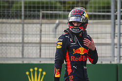 April 29, 2018 - Baku, Azerbaijan - VERSTAPPEN Max (ned), Aston Martin Red Bull Tag Heuer RB14, after his accident with RICCIARDO Daniel (aus), Aston Martin Red Bull Tag Heuer RB14, during the 2018 Formula One World Championship, Grand Prix of Europe in Azerbaijan from April 26 to 29 in Baku - Photo Sebastiaan Rozendaal / DPPI  Motorsports: World Championship; 2018; Grand Prix Azerbaijan, Grand Prix of Europe, Formula 1 2018  (Credit Image: © Hoch Zwei via ZUMA Wire)
