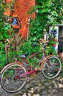 A childs bike