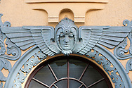 Art Nouveau architecture in the old medieval town centre, Riga, Latvia (May 2016) © Rudolf Abraham