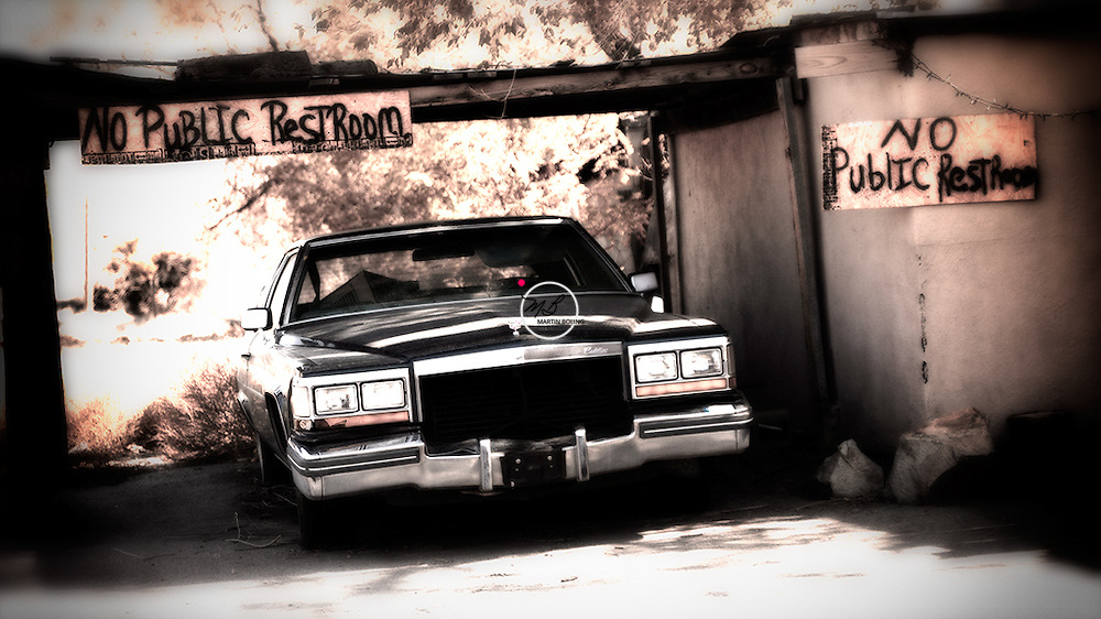 No Public Restroom, Cerrillos, New Mexico