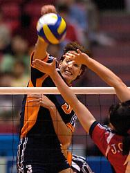 18-06-2000 JAP: OKT Volleybal 2000, Tokyo<br /> Nederland - China 3-0 / Francien Huurman