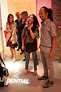 Ay Tjoe Christine: Angki Purbandono, Indonesian Eye Contemporary Art Exhibition Reception, Saatchi Gallery. London. 9 September 2011. <br /> <br />  , -DO NOT ARCHIVE-© Copyright Photograph by Dafydd Jones. 248 Clapham Rd. London SW9 0PZ. Tel 0207 820 0771. www.dafjones.com.