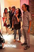 Ay Tjoe Christine: Angki Purbandono, Indonesian Eye Contemporary Art Exhibition Reception, Saatchi Gallery. London. 9 September 2011. <br /> <br />  , -DO NOT ARCHIVE-© Copyright Photograph by Dafydd Jones. 248 Clapham Rd. London SW9 0PZ. Tel 0207 820 0771. www.dafjones.com.