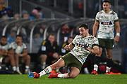 Mitch Hunt.<br /> Blues v Highlanders, Sky Super Rugby Trans-Tasman Final. Eden Park, Auckland. New Zealand. Saturday 19 June 2021. © Copyright Photo: Andrew Cornaga / www.photosport.nz