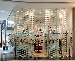 Manolo Blahnik boutique inside Dubai Mall, UAE