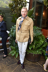 Henry Conway at The Ivy Chelsea Garden Summer Party, Kings Road, London, England. 14 May 2018.