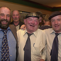 Danny Healy-Rae, left,  pictured with his father Jackie and brother Michael following the announcement that he will take Jackie's seat on Kerry County Council.<br />