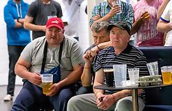 Fans watch England vs Wales on screens at Ashton Gate - Mandatory by-line: Robbie Stephenson/JMP - 16/06/2016 - FOOTBALL - Ashton Gate - Bristol, United Kingdom  - England vs Wales - UEFA Euro 2016