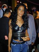 Aaliyah .MTV 20th Birthday Bash (backstage).Hammerstein Ballroom.New York, NY.August 01, 2001.Photo by Celebrityvibe.com..