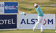 Alexander Levy (FRA) plays from the 13th during Round One of the 2015 Alstom Open de France, played at Le Golf National, Saint-Quentin-En-Yvelines, Paris, France. /02/07/2015/. Picture: Golffile | David Lloyd<br /> <br /> All photos usage must carry mandatory copyright credit (© Golffile | David Lloyd)
