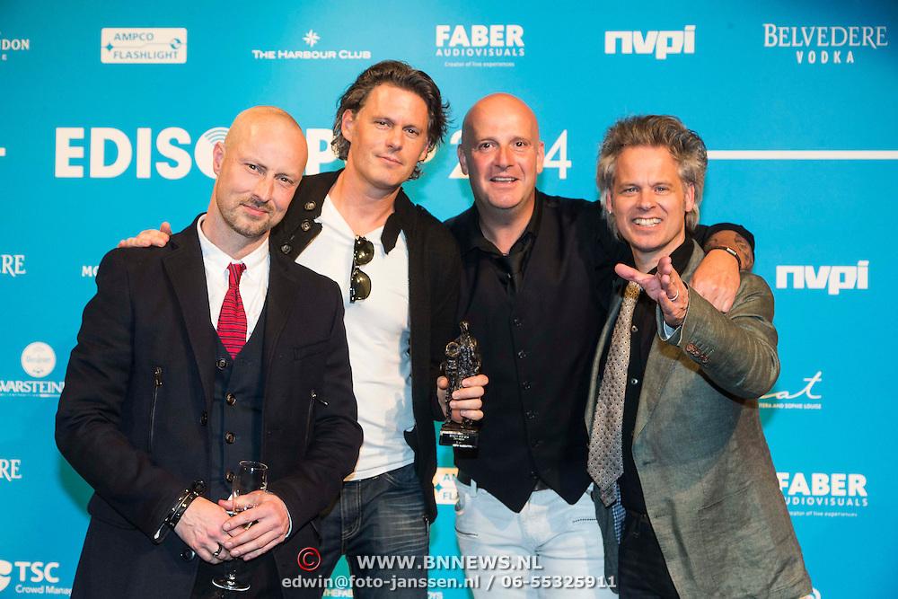 NLD/Amsterdam//20140331 - Uitreiking Edison Pop 2014, Blof