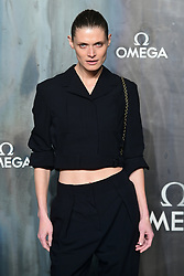 Malgosia Bela attending the Lost in Space event to celebrate the 60th anniversary of the OMEGA Speedmaster held in the Turbine Hall, Tate Modern, 25 Sumner Street, Bankside, London.