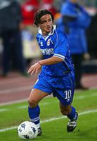 Roma 6 Novembre 2002<br />Recupero 1a giornata di campionato<br />Benni Carbone