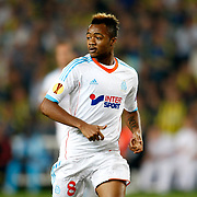 Marseille's Jordan Ayew during their UEFA Europa League Group Stage Group C soccer match Fenerbahce between Marseille at Sukru Saracaoglu stadium in Istanbul Turkey on Thursday 20 September 2012. Photo by TURKPIX