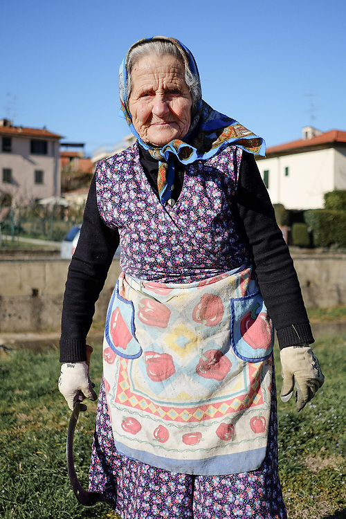 Peasant from Valdarno Valley in Tuscany, Italy