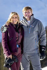 Dutch Royal Family Photo Session - Lech - 25 Feb 2019