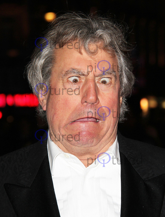 LONDON - OCTOBER 16: Terry Jones attended the screening of 'A Liar's Autobiography' at the Empire Cinema, Leicester Square, London, UK. October 16, 2012. (Photo by Richard Goldschmidt)