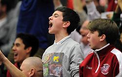 Bristol Flyers fans - Mandatory byline: Dougie Allward/JMP - 11/12/2015 - Basketball - SGS Wise Campus - Bristol, England - Bristol Flyers v Plymouth Raiders - British Basketball League
