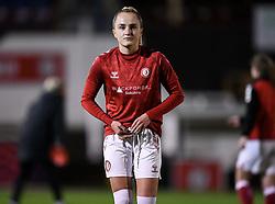 Faye Bryson of Bristol City Women - Mandatory by-line: Ryan Hiscott/JMP - 13/01/2021 - FOOTBALL - Twerton Park - Bath, England - Bristol City Women v Aston Villa Women - FA Continental Cup quarter final