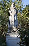 Statue of Queen Victoria, 1887, Woodbridge, Suffolk, England