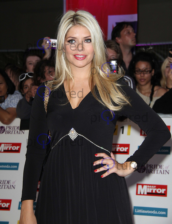 Holly Willoughby Pride of Britain Awards, Grosvenor House Hotel, London, UK. 03 October 2011. Contact: Rich@Piqtured.com +44(0)7941 079620 (Picture by Richard Goldschmidt)