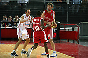 DESCRIZIONE : Roma Lega A1 2006-07 Lottomatica Virtus Roma Whirlpool Varese <br /> GIOCATORE : Galanda <br /> SQUADRA : Whirlpool Varese <br /> EVENTO : Campionato Lega A1 2006-2007 <br /> GARA : Lottomatica Virtus Roma Whirlpool Varese <br /> DATA : 25/04/2007 <br /> CATEGORIA : <br /> SPORT : Pallacanestro <br /> AUTORE : Agenzia Ciamillo-Castoria/G.Ciamillo