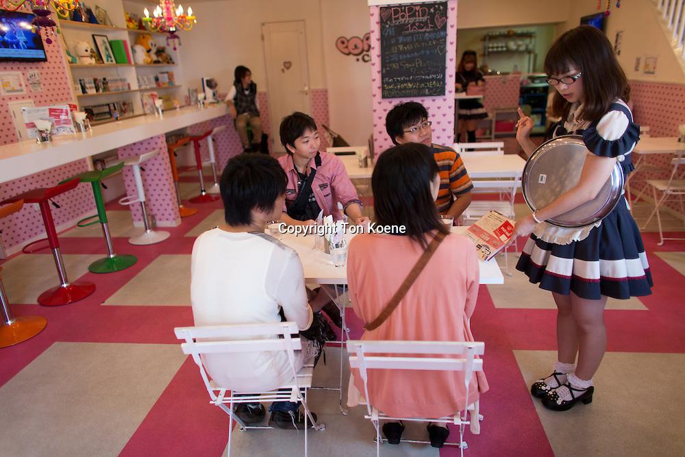 manga restaurant in Osaka