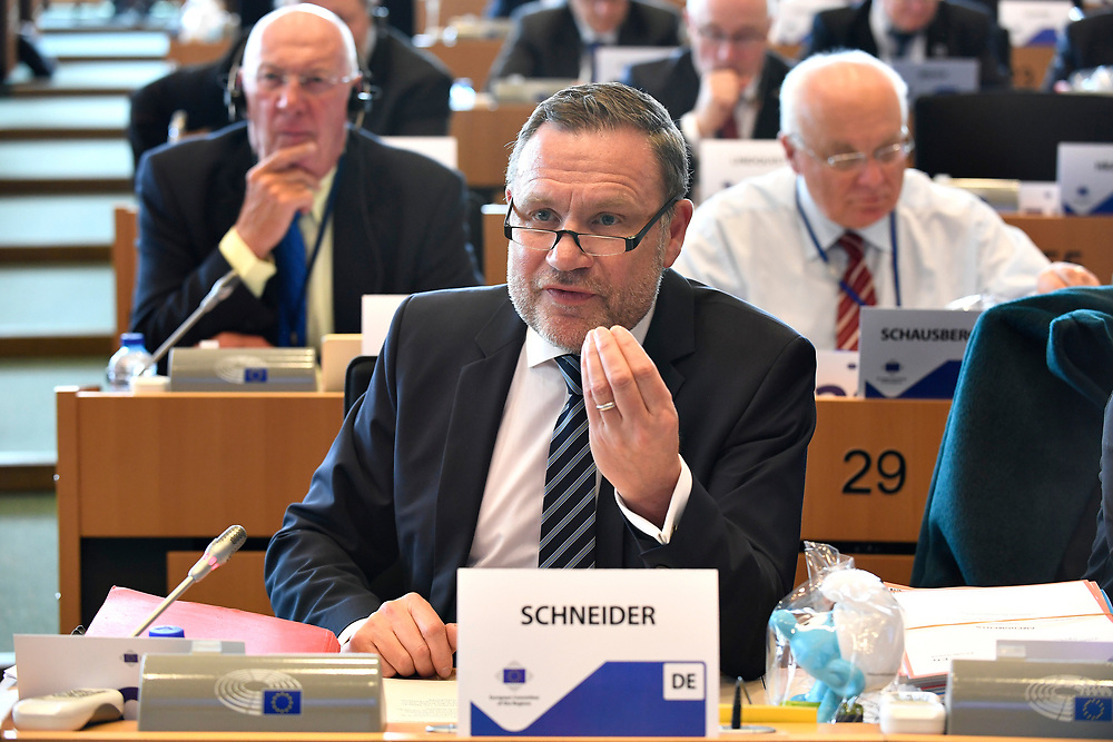 11 May 2017, 123rd Plenary Session of the European Committee of the Regions <br /> Belgium - Brussels - May 2017 <br /> SCHNEIDERMichael© European Union / Fred Guerdin
