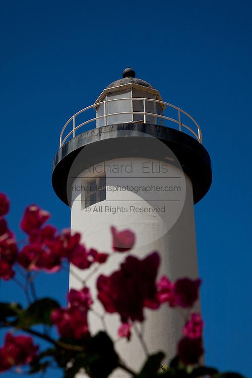 Rincon Lighthouse in Rincon Puerto Rico (photo by Charleston SC photographer Richard Ellis)