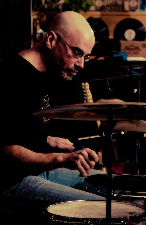 Rich Flamini on drums with The Sea Turtles at The Bus Stop Music Cafe in Pitman, NJ.