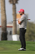 Andy Sullivan (ENG) walking down the 8th during Round 2 of the Omega Dubai Desert Classic, Emirates Golf Club, Dubai,  United Arab Emirates. 25/01/2019<br /> Picture: Golffile | Thos Caffrey<br /> <br /> <br /> All photo usage must carry mandatory copyright credit (© Golffile | Thos Caffrey)