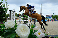 Philippe Rozier riding Cristallo A LM during the Longines Paris Eiffel Jumping 2018, on July 5th to 7th, 2018 at the Champ de Mars in Paris, France - Photo Christophe Bricot / ProSportsImages / DPPI