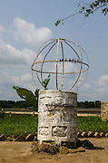 Equator Monument, Makoua<br /> Republic of Congo (Congo - Brazzaville)<br /> AFRICA