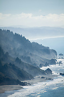 Scenic image of Northern California coast. Redwood National Park, CA