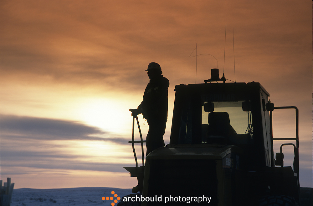 Western Arctic Oil worker<br /> <br /> NOT IN YOUR BUDGET? Contact Cathie for a price specific to your project.