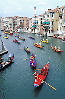 Italie, Venetie, Venise, Regatta storica. // Regata storica - Venice - Italy