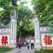 Gate to Temple of Literature, Hanoi