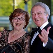 NLD/Amsterdam/20110527 - 40ste verjaardag Prinses Maxima, Jozias van Aartsen en partner Henriette Warsen