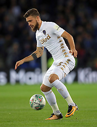 """Leeds United's Mateusz Klich during the Carabao Cup, Fourth Round match at the King Power Stadium, Leicester. PRESS ASSOCIATION Photo. Picture date: Tuesday October 24, 2017. See PA story SOCCER Leicester. Photo credit should read: Mike Egerton/PA Wire. RESTRICTIONS: EDITORIAL USE ONLY No use with unauthorised audio, video, data, fixture lists, club/league logos or """"live"""" services. Online in-match use limited to 75 images, no video emulation. No use in betting, games or single club/league/player publications."""