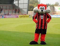 Shrimp - Mandatory byline: Neil Brookman/JMP - 07966 386802 - 03/10/2015 - FOOTBALL - Globe Arena - Morecambe, England - Morecambe FC v Bristol Rovers - Sky Bet League Two